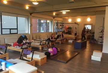 Boditree Pilates Studio in Vancouver BC's spacious interior